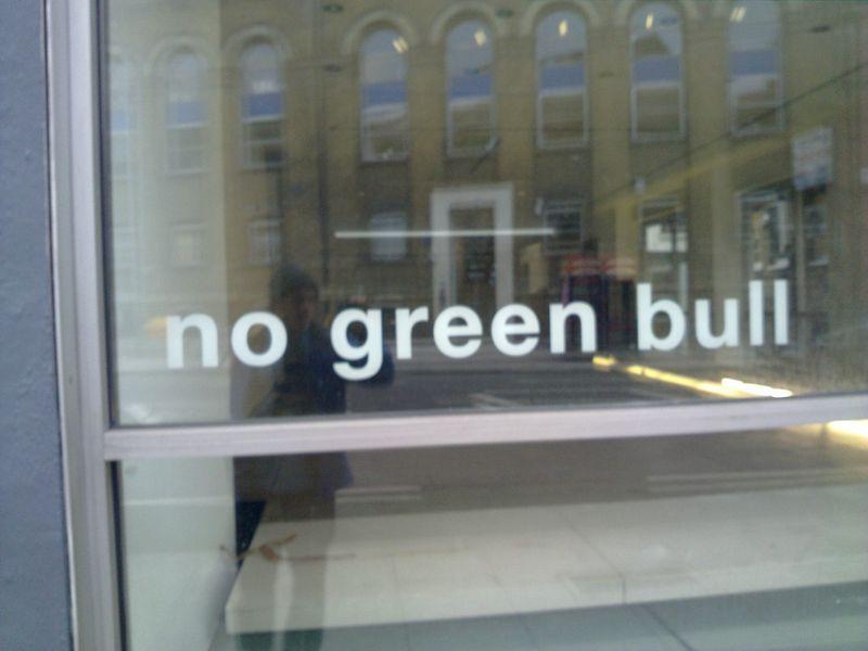 No green bull